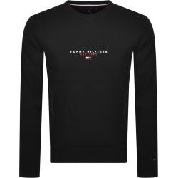 Tommy Hilfiger Crew Neck Sweatshirt Black found on Bargain Bro UK from Mainline Menswear