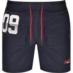 Superdry Water Polo Swim Shorts Navy found on Bargain Bro UK from Mainline Menswear