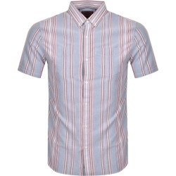 Superdry Oxford Short Sleeved Shirt Blue found on Bargain Bro UK from Mainline Menswear