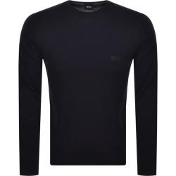 BOSS Pacas L Knit Jumper Navy found on MODAPINS from Mainline Menswear Australia for USD $148.38