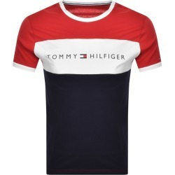 Tommy Hilfiger Lounge Logo Flag T Shirt Red found on Bargain Bro UK from Mainline Menswear