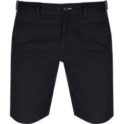 Superdry Slim Chino Lite Shorts Navy found on Bargain Bro UK from Mainline Menswear