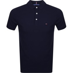 Tommy Hilfiger Slim Fit Polo T Shirt Navy found on Bargain Bro from Mainline Menswear for £70