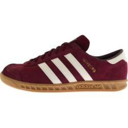 adidas Originals Hamburg Trainers Burgundy found on Bargain Bro UK from Mainline Menswear