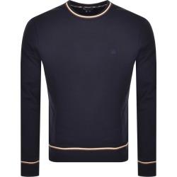 Aquascutum Wallace Crew Neck Sweatshirt Navy found on MODAPINS from Mainline Menswear Australia for USD $151.10