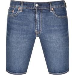 Levis 511 Slim Fit Hemmed Denim Shorts Navy found on Bargain Bro from Mainline Menswear for £50