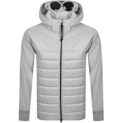 CP Company Hooded Padded Jacket Grey found on MODAPINS from Mainline Menswear Australia for USD $452.35