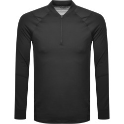 Under Armour Half Zip Long Sleeve T Shirt Black found on Bargain Bro India from Mainline Menswear Australia for $49.50