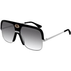 Gucci GG0478S Sunglasses Black found on Bargain Bro UK from Mainline Menswear