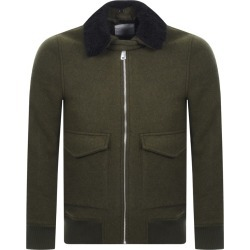 Les Deux Planchett Bomber Jacket Green found on Bargain Bro UK from Mainline Menswear