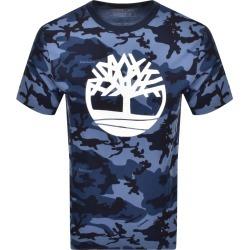 Timberland Camouflage Logo T Shirt Navy found on Bargain Bro UK from Mainline Menswear