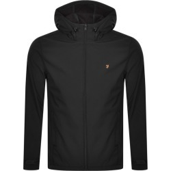 Farah Vintage Bective Soft Shell Jacket Black found on MODAPINS from Mainline Menswear Australia for USD $139.12