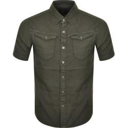 G Star Raw Arc 3D Short Sleeved Shirt Green found on MODAPINS from Mainline Menswear Australia for USD $96.29