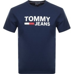 Tommy Jeans Logo T Shirt Navy found on Bargain Bro UK from Mainline Menswear
