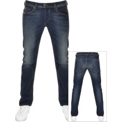 Diesel Belther 0814W Jeans Navy found on Bargain Bro UK from Mainline Menswear
