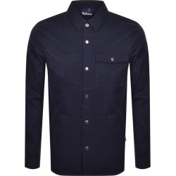 Barbour Mortan Overshirt Jacket Inky Blue found on Bargain Bro UK from Mainline Menswear