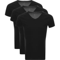 Tommy Hilfiger Lounge 3 Pack V Neck T Shirts Black found on Bargain Bro UK from Mainline Menswear
