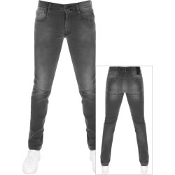 Replay Anbass Slim Fit Hyperflex Jeans Grey found on Bargain Bro UK from Mainline Menswear