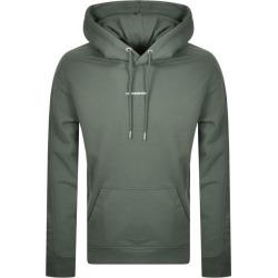 Calvin Klein Micro Logo Hoodie Green found on Bargain Bro UK from Mainline Menswear