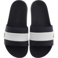 Lacoste Croco Sliders Navy found on Bargain Bro UK from Mainline Menswear