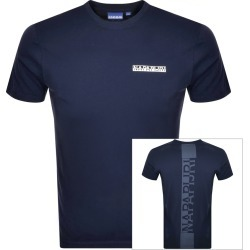 Napapijri S-Surf Short Sleeve T Shirt Navy found on Bargain Bro India from Mainline Menswear Australia for $40.40