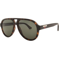 Gucci GG0767S Sunglasses Brown found on Bargain Bro UK from Mainline Menswear
