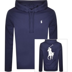 Ralph Lauren Long Sleeved Hooded T Shirt Navy found on Bargain Bro India from Mainline Menswear Australia for $118.65