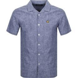 Lyle And Scott Short Sleeved Resort Shirt Navy found on Bargain Bro UK from Mainline Menswear