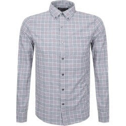 Michael Kors Slim Fit Check Shirt Grey found on Bargain Bro UK from Mainline Menswear