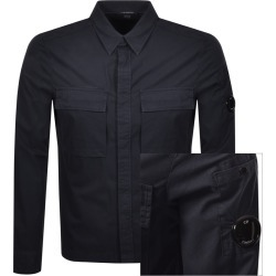 CP Company Long Sleeved Shirt Navy found on MODAPINS from Mainline Menswear Australia for USD $314.06