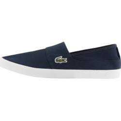 Lacoste Marice Plimsolls Navy found on Bargain Bro UK from Mainline Menswear