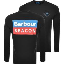 Barbour Beacon Standard Long Sleeve T Shirt Black found on Bargain Bro UK from Mainline Menswear