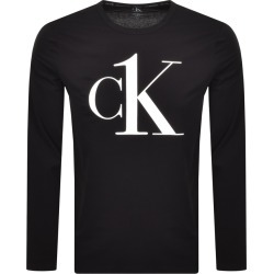 Calvin Klein Long Sleeved Lounge T Shirt Black found on Bargain Bro India from Mainline Menswear Australia for $48.13
