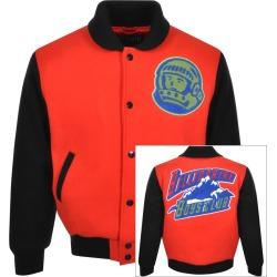 Billionaire Boys Club Mountain Varsity Jacket Red found on MODAPINS from Mainline Menswear Australia for USD $656.86