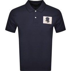 Kent And Curwen Rose Polo T Shirt Navy found on MODAPINS from Mainline Menswear Australia for USD $128.63