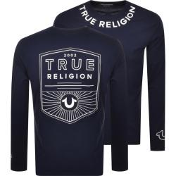 True Religion Long Sleeve T Shirt Navy found on Bargain Bro India from Mainline Menswear Australia for $92.91