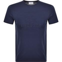 Lacoste Crew Neck Logo T Shirt Navy found on Bargain Bro UK from Mainline Menswear