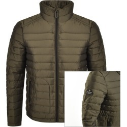 Superdry Padded Double Zip Fuji Jacket Green found on Bargain Bro UK from Mainline Menswear
