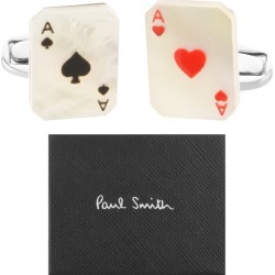 PS By Paul Smith Aces Cufflinks Set Silver found on Bargain Bro India from Mainline Menswear Australia for $143.01