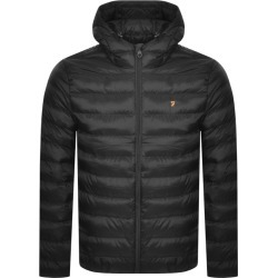 Farah Vintage Strickland Quilted Jacket Black found on MODAPINS from Mainline Menswear Australia for USD $140.25