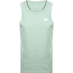 Nike Club Logo Vest T Shirt Green found on Bargain Bro UK from Mainline Menswear