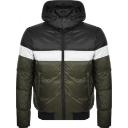 Emporio Armani Full Zip Hooded Jacket Black found on Bargain Bro UK from Mainline Menswear