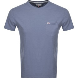 Tommy Jeans Pocket T Shirt Blue found on Bargain Bro UK from Mainline Menswear