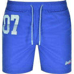 Superdry Water Polo Swim Shorts Blue found on Bargain Bro UK from Mainline Menswear