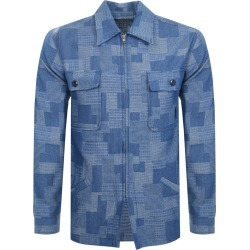 Billionaire Boys Club Zip Overshirt Jacket Blue found on Bargain Bro UK from Mainline Menswear