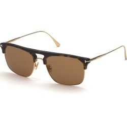 Tom Ford FT0830 52E Sunglasses Brown found on Bargain Bro UK from Mainline Menswear
