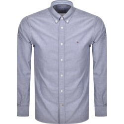 Tommy Hilfiger Oxford Regular Fit Shirt Navy found on Bargain Bro from Mainline Menswear for £68