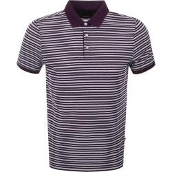 Michael Kors Jacquard Stripe Polo T Shirt Purple found on Bargain Bro UK from Mainline Menswear