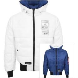 Alpha Industries Hooded Reversible Jacket Navy found on Bargain Bro UK from Mainline Menswear