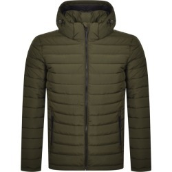 Superdry Hooded Padded Jacket Khaki found on Bargain Bro India from Mainline Menswear Australia for $115.43